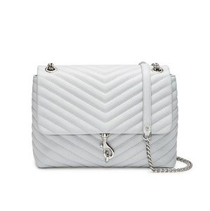 Rebecca Minkoff Edie Flap Chevron Shoulder Bag